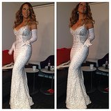 Mariah Carey prepared to kick off the Christmas season in NYC! Source: Instagram user mariahcarey
