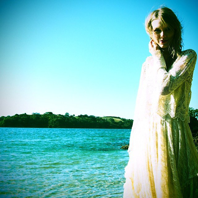 Taylor Swift soaked up the sun while making a tour stop down under. Source: Instagram user taylorswift