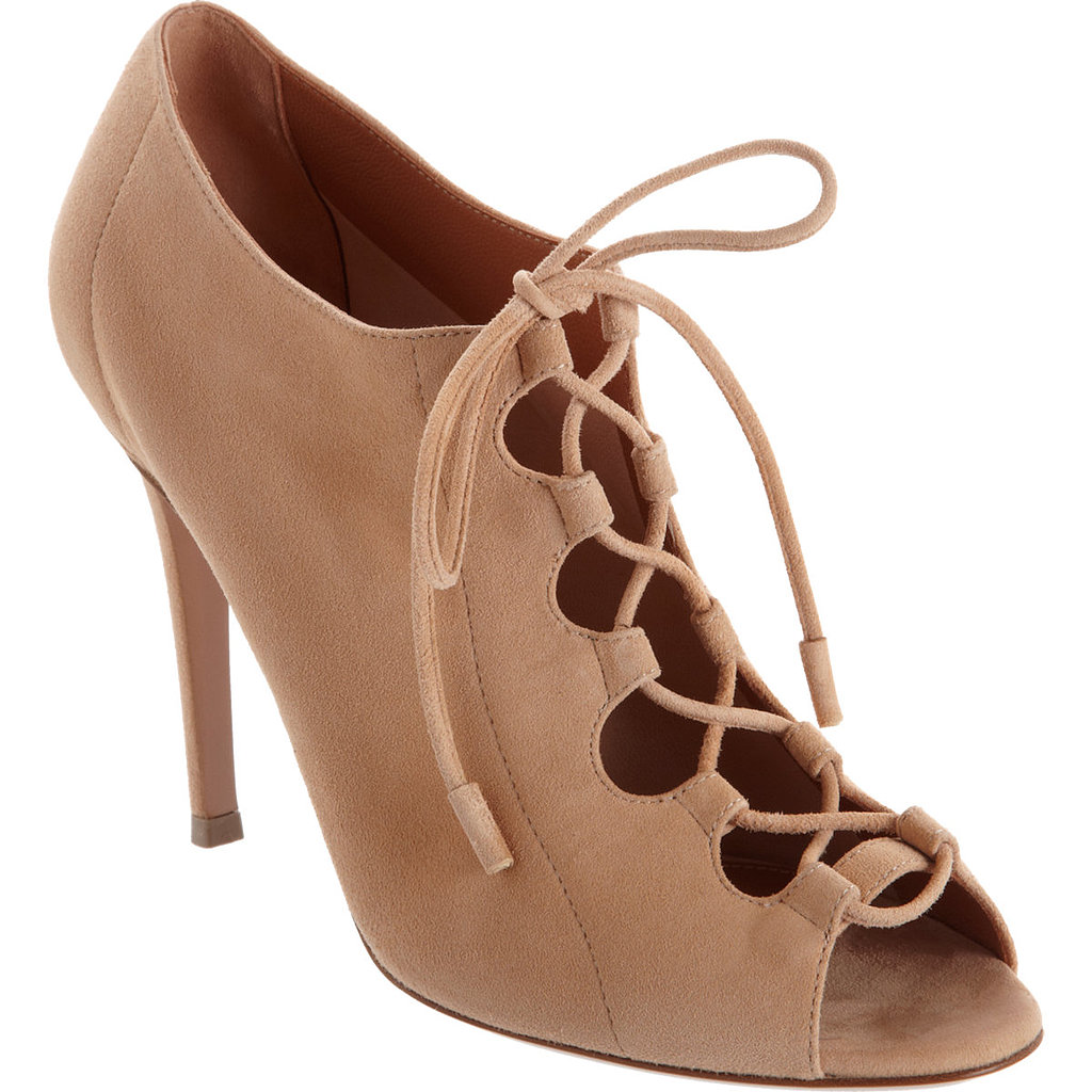 Gianvito Rossi Lace-Up Bootie ($479, originally $800)