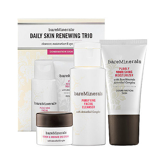 For the travel-loving friend in your life, gift Bare Minerals's Daily Skin Renewing Trio ($24). It's a trio of travel-sized skin care must-haves including a cleanser, moisturizer, and an eye cream, so she can have clear skin wherever she is in the world!