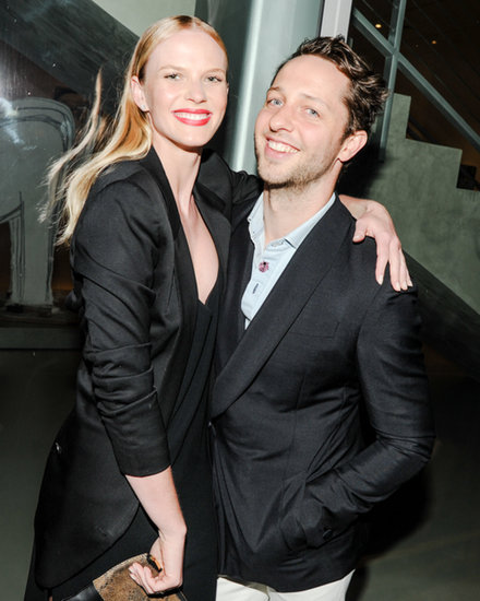 Anne V and Derek Blasberg at Berluti Miami's cocktails and dinner.