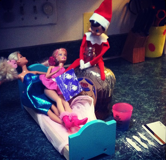 Naughty Elf on the Shelf Pictures | POPSUGAR Love & Sex