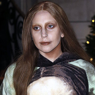 Lady Gaga in Mona Lisa Dress | Pictures