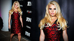Jessica Simpson Shows Us How to Wear Red For the Holidays!