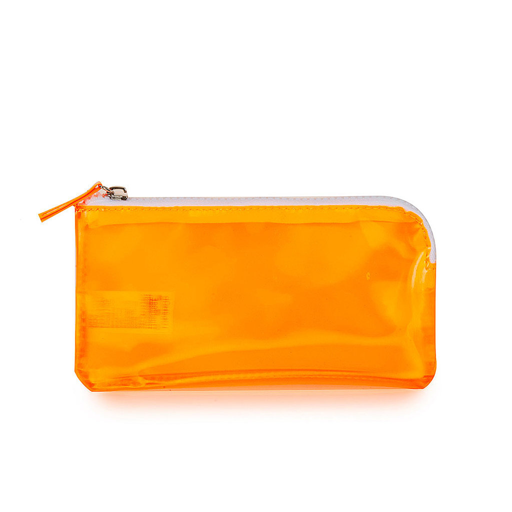 Give the gift of organization with this orange Topshop pouch ($12).