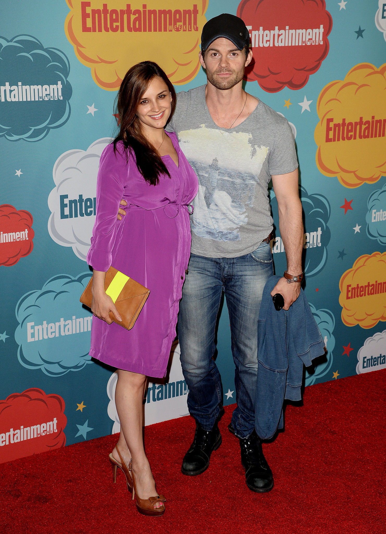 Rachael Leigh Cook and husband Daniel Gillies welcomed their daughter, Charlotte Gillies, in September 2013. The two have been married since 2004.