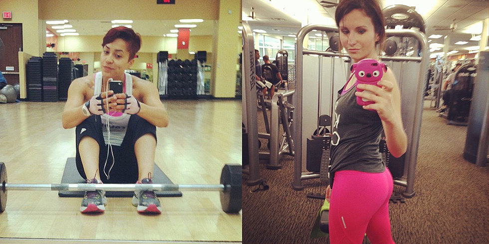 The Gym Selfie: OK or Go Away?