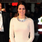 Kate Middleton's White Gown at Mandela Premiere