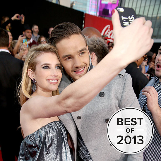 Celebrities Couldn't Stop Taking Selfies This Year