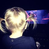 Hattie McDermott joined her siblings for a showing of Frozen over the holiday weekend. Source: Instagram user torianddean