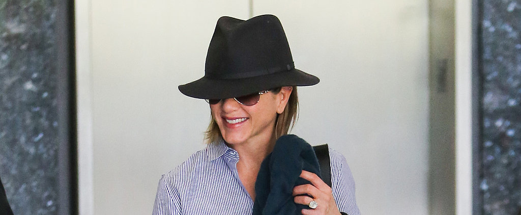 Jennifer Aniston Swaps Tree Shopping For a Spa Day