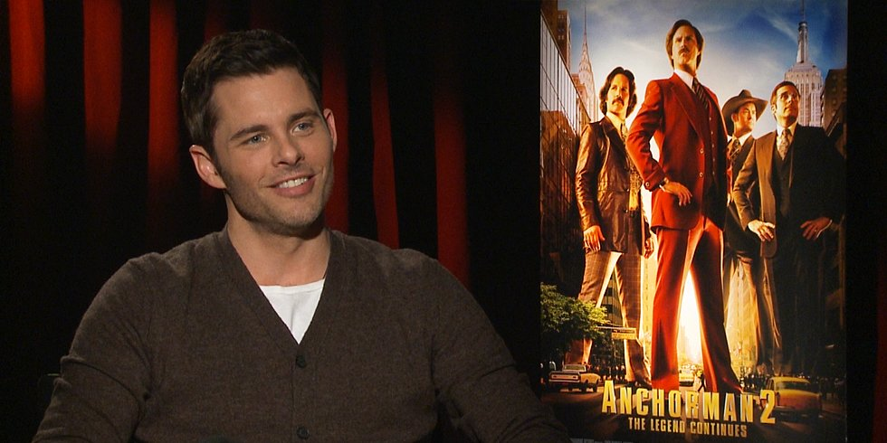 "James Marsden Was ""Pretty Close"" to Playing Brian Fantana"