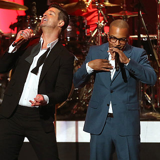 2014 Grammy Nominations Concert: Robin Thicke, Taylor Swift