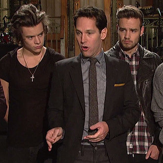 Paul Rudd's SNL Promos 2013
