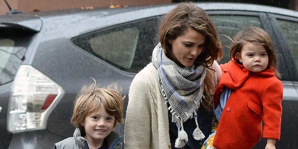 Keri Russell Wraps Up a Dramatic Week