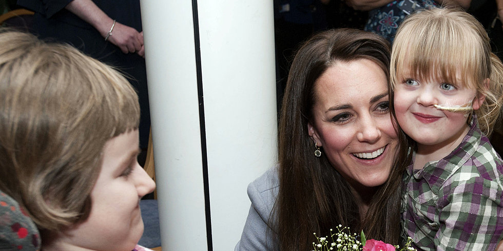 "Kate Middleton Lets Prince George Get ""Messy"""