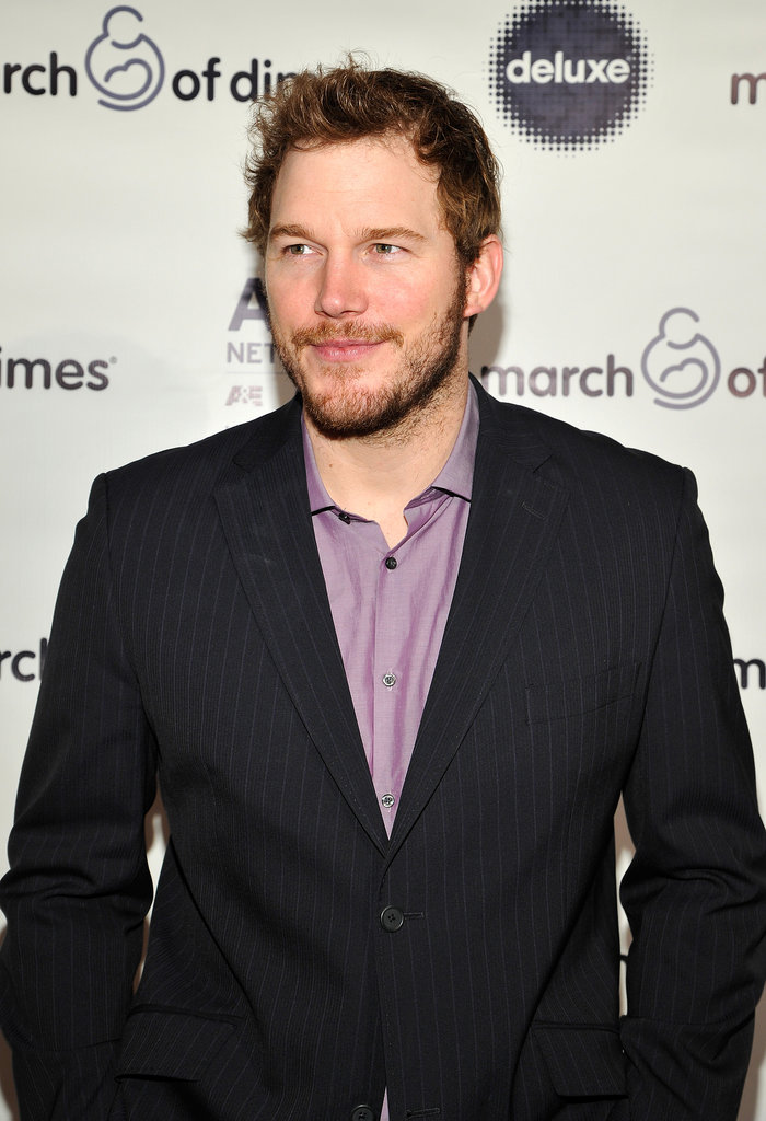 Chris Pratt suited up for the March of Dimes event.