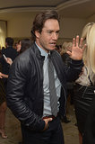 Mark-Paul Gosselaar mingled during the luncheon.