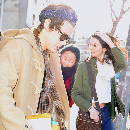 Pics: Harry Styles & Kendall Jenner Leaving Hotel Together