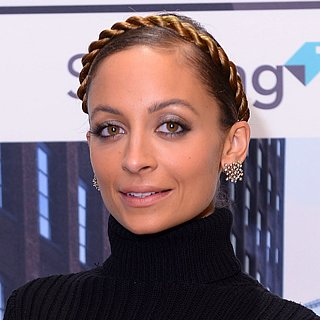 Nicole Richie Crown Braid at