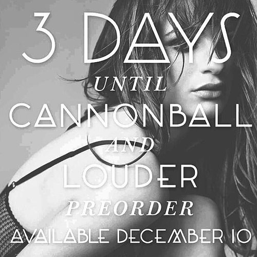"Lea Michele's ""Cannonball"" Single Cover Art"