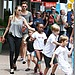 Angelina does Bondi! Angelina Jolie took her brood shopping on Dec. 6 to the excitement of onlookers.