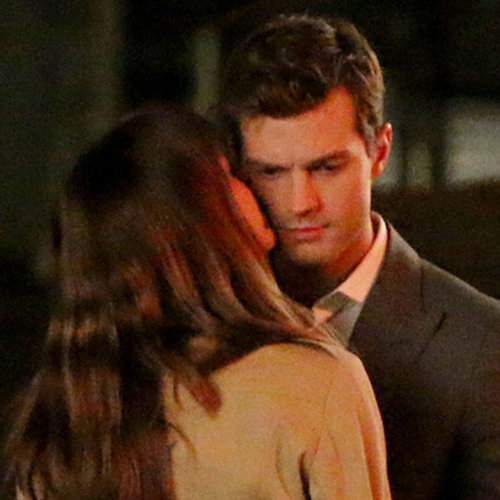 Dakota Johnson Kissing Jamie Dornan For Fifty Shades of Grey