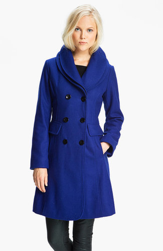 GUESS Double Collar Coat (Online Exclusive)