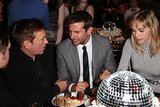 Bradley Cooper and Suki Waterhouse snacked on sweets at their table.