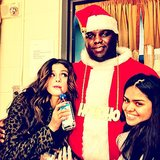 Wonder what Selena Gomez asked Santa for? Source: Instagram user selena