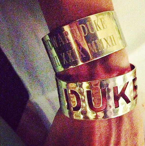 Giuliana Rancic wore her heart on her wrist. Source: Instagram user giulianarancic