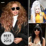 Lady Gaga Blew Our Minds with Her Ever-Changing Wigs in 2013