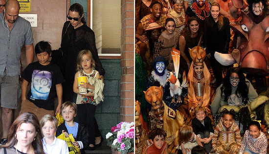 It Was a Good Weekend to Be a Jolie-Pitt Kid!