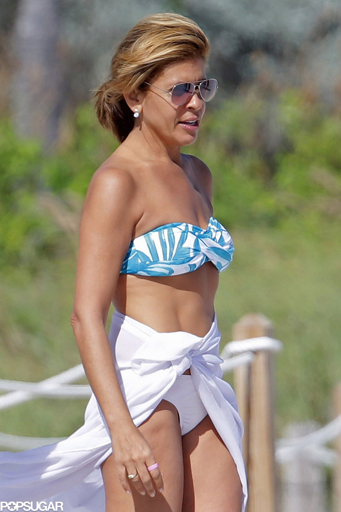 Hoda Kotb is the host with the most. Over the weekend, the gorgeous Today show favorite showed off her incredible bikini body in Miami while there for a friend's birthday party.