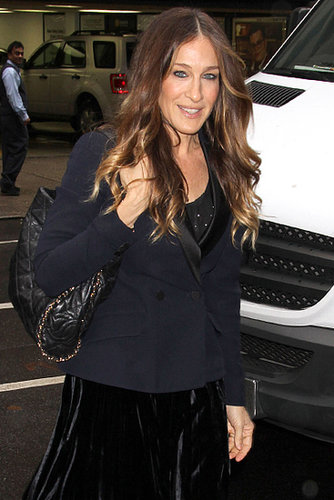 Sarah Jessica Parker stepped out on Monday for the Cosmo 100 luncheon in NYC.