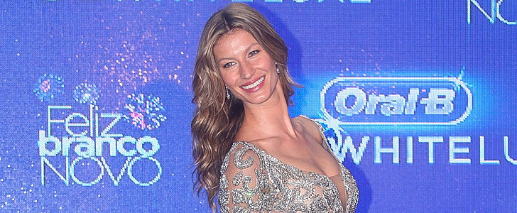 Gisele Puts Her Legs to Work in the Name of Dental Hygiene