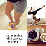 Instagram Pictures: Jess Hart, Gisele Yoga, Fitness Food