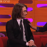 "Daniel Radcliffe Has ""Dead Person"" Hair Extensions"