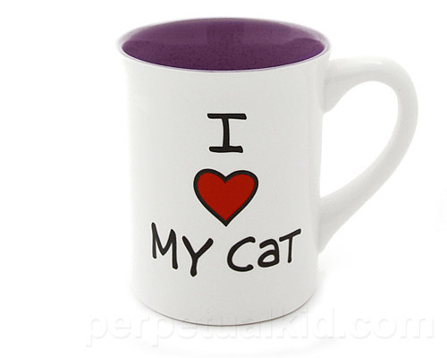 I Heart My Cat Mug ($10)