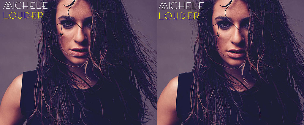 Lea Michele's Wet Hair For Her Album Art Is Seriously Sexy