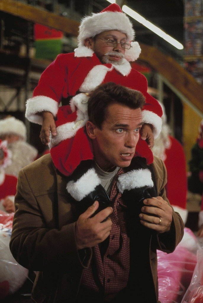 Arnold Schwarzenegger in Jingle All the Way