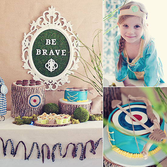 Birthday Parties: A Brave Birthday Party That Hits the Bull's-Eye!