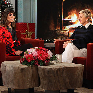 Lea Michelle Talking About Cory Monteith on Ellen Degeneres