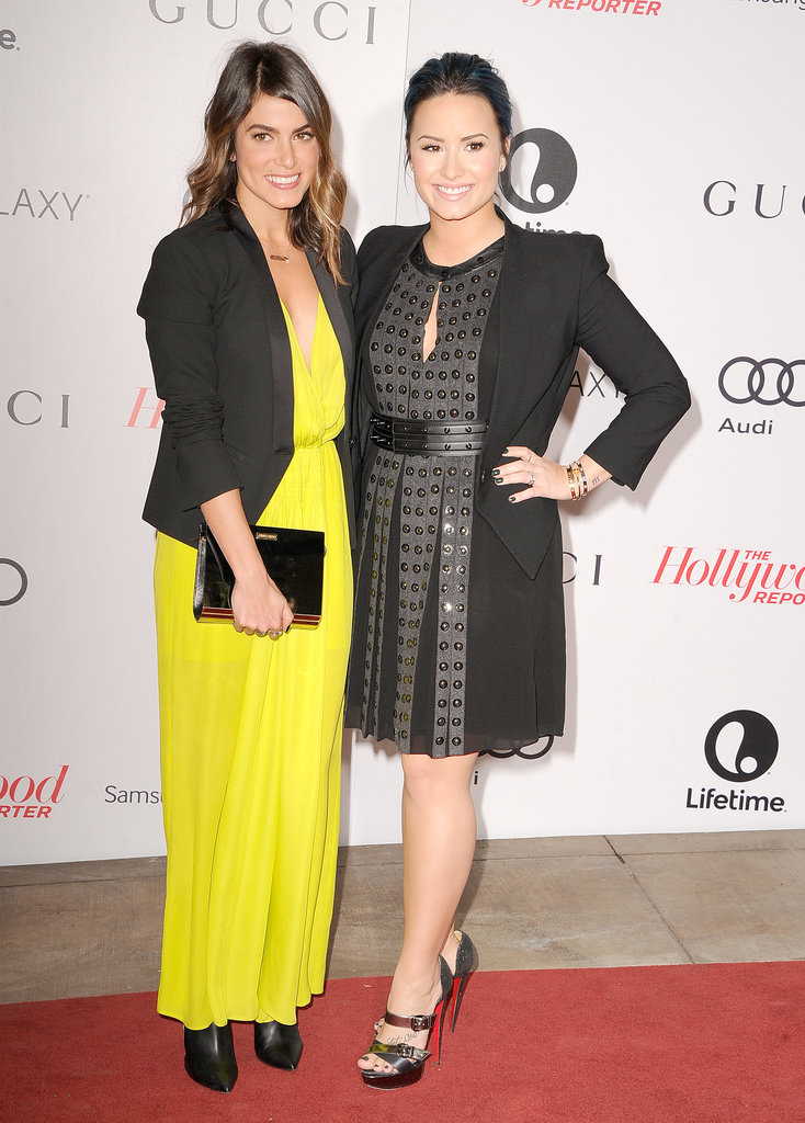 Nikki Reed and Demi Lovato buddied up on the red carpet.