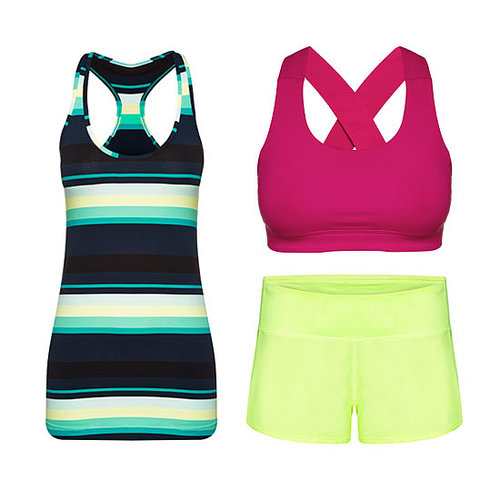 How to Wear Bright Colours and Patterns at the Gym