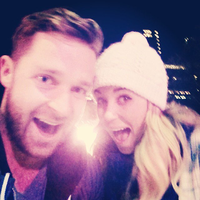 Lauren Conrad and her former Laguna Beach costar Trey Phillips embarked on their annual ice-skating adventure. Source: Instagram user laurenconrad