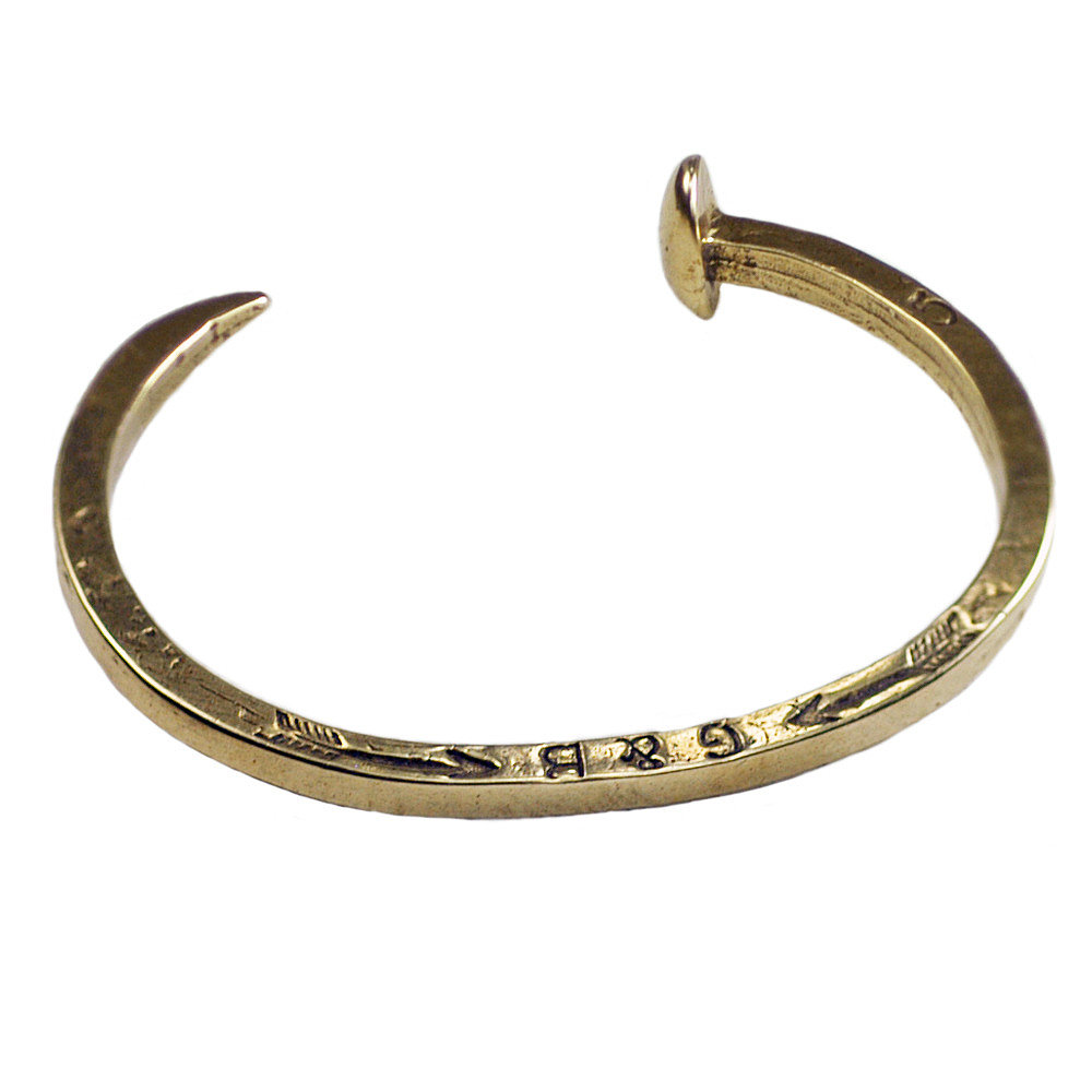 Giles & Brother Railroad Spike Cuff