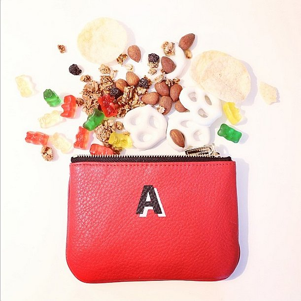 This little pouch was a stylish step up from the typical sandwich bag. Source: Instagram user rebeccaminkoff