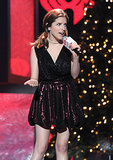 Anna Kendrick sang at the Z100 Jingle Ball.