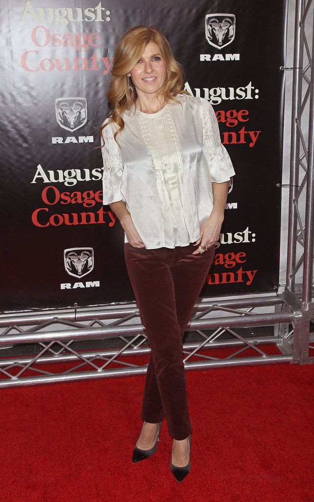 Connie Britton kept it casual.